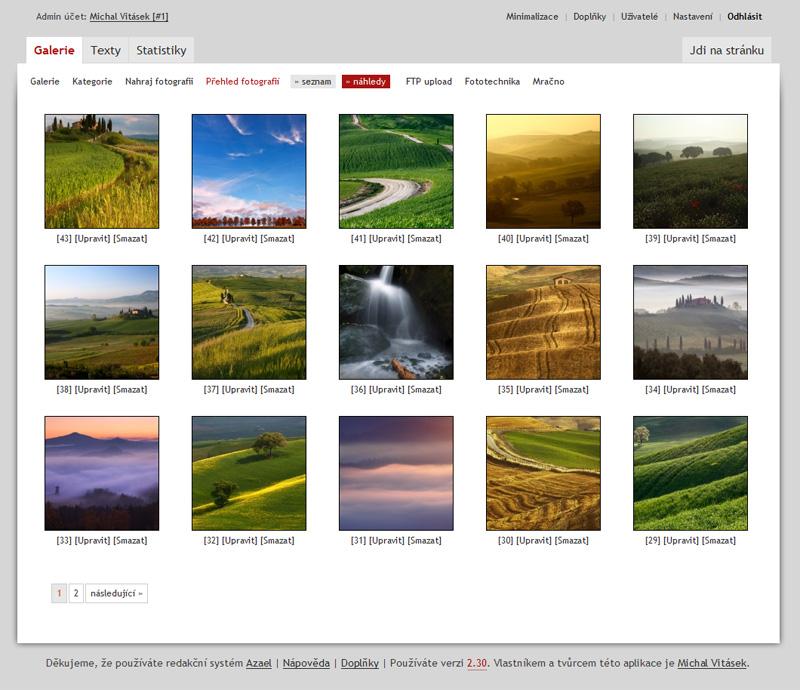 Webové fotogalerie